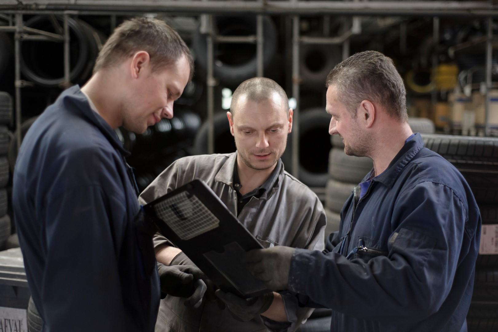 Link2Europe: werken aan auto